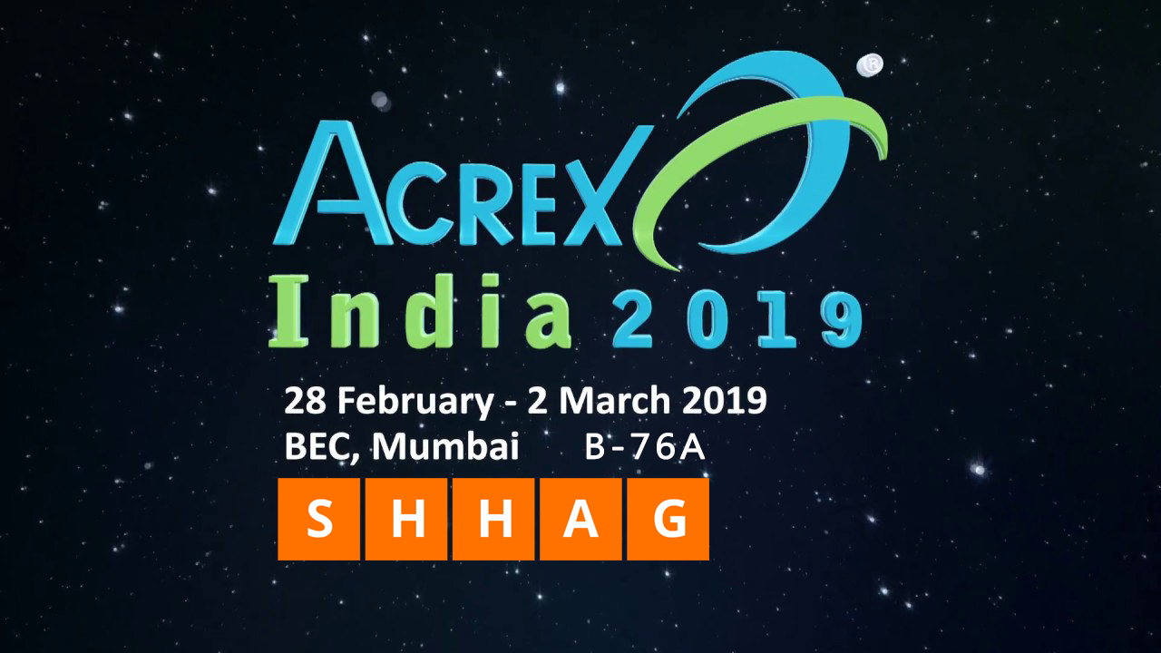 SHHAG will attend Acrex India 2019 Exhibition- Shandong