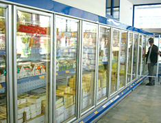 Display Freezer Glass Door